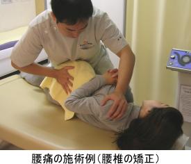 腰椎の矯正